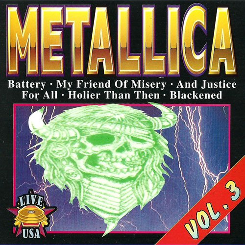 metallica and justice for all CD Covers