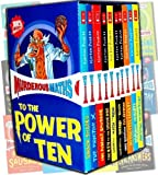 Murderous Maths 10 Books Boxed Collection Pack Set by Kjartan Poskitt RRP: £59.99 (Awesome Arithmetricks: How to + - X, Desperate Measures, Do You Feel Lucky?, Easy Questions, Evil Answers, : Guaranteed to Bend Your Brain,  Guaranteed to Mash Your Mind: More Muderous Maths, The Key to the Universe, The Perfect Sausage and Other Fundamental Formulas, The Phantom X, Savage Shapes)