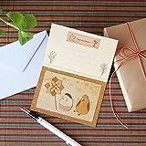 Amazon.co.jp「起き上がり小法師」 自分でつくる グリーティングカード 木はり絵 キット