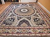 Stunning 2x12 Persian Silk Area Rugs Long Hallway Runner 2 by12 Silk Traditional Green Runner Rug Tabriz Design Runners Carpet Luxury Silk Long Narrow Rug For Hall Ways