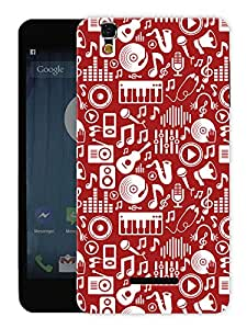 """Humor Gang Music Is My Life Printed Designer Mobile Back Cover For """"Yu Yureka Plus"""" (3D, Matte, Premium Quality Snap On Case)"""