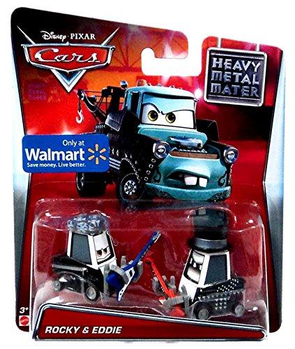 Disney/Pixar Cars, Toon Die-Cast Vehicles, Rocky & Eddie, 1:55 Scale