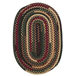 Colonial Mills Market Mix Oval Winter Area Rug (Oval 3\' x 5\')