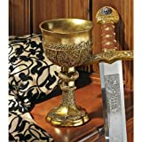 Design Toscano King Arthur s Golden Chalice Gothic Sculpture