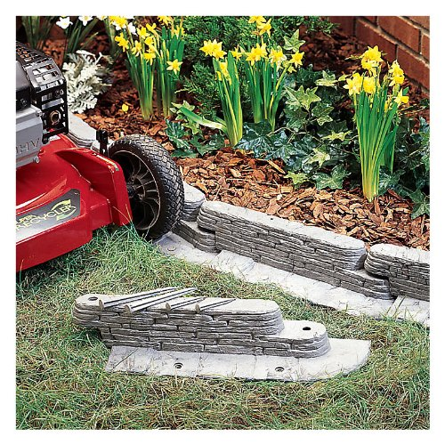 Flower Beds And Borders: FLOWER BED EDGING IDEAS