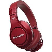 Bluedio UFOCAR001 Over-Ear 3.5mm Wireless Bluetooth Headphones (Red)