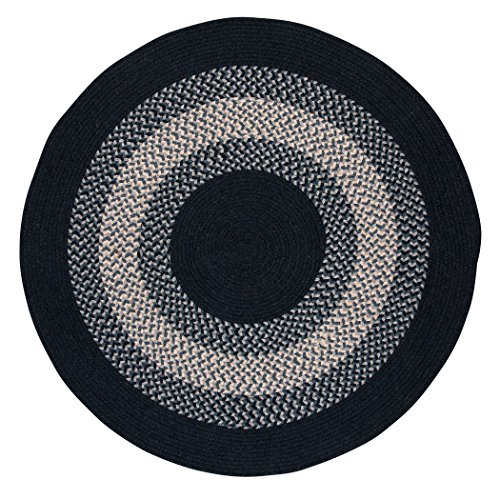 North Ridge Round Rug, 6-Feet, Navy