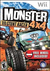 Monster 4x4 Stunt Racer with Wheel - Nintendo Wii