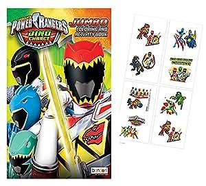 Buy Power Rangers Dino Charge Jumbo Coloring Activity Book