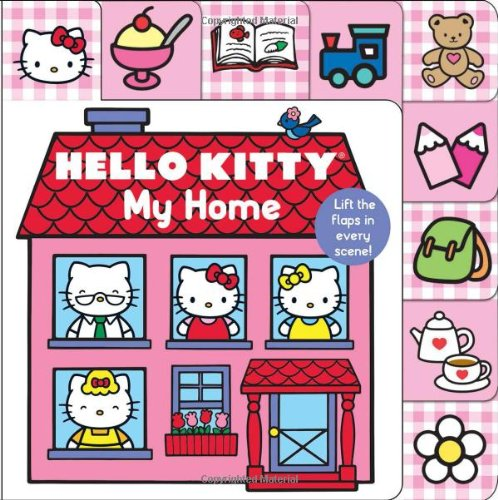 Hello-Kitty-My-Home-Lift-the-Flap-Tab-Lift-the-Flap-Tab-Books