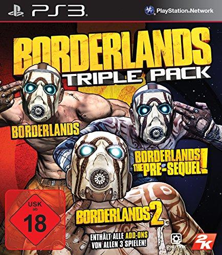 Borderlands Triple Pack (USK ab 18 Jahre) PS3