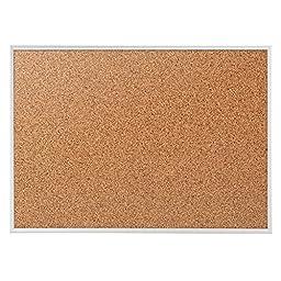 Quartet Cork Bulletin Board/Fiberboard, 72\