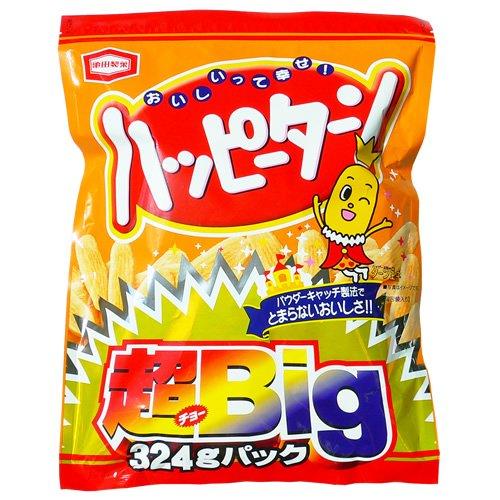 アジカル ハッピーターン 超ビッグバッグ 324g