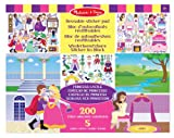 Melissa & Doug Reusable Sticker Pad Princess Castle