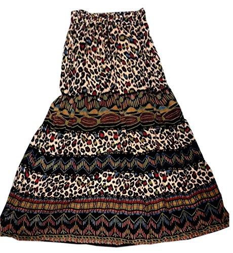 jnb-garments-gonna-donna-multicolore-printed-taglia-unica-per-persone-minute