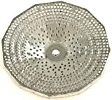 Paderno World Cuisine Sieve for 5-Quart Tin Food Mill with 3/32-Inch Perforations