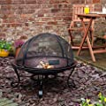 Fire Mountain Copper Effect Fire Pit by Fire Mountain