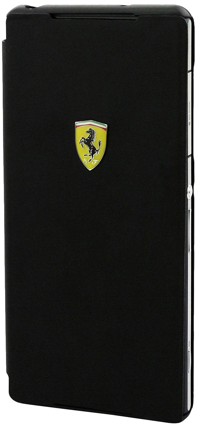 Ferrari FEFM071 - Funda ultra slim folio para Sony Xperia Z2 MFX, negro Ferrari  Electrónica Comentarios y más información