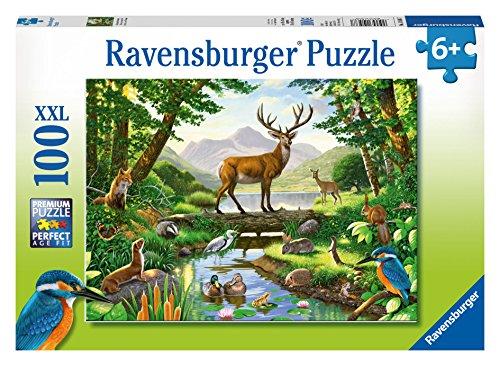 Ravensburger Woodland Harmony Puzzle (100 Piece)