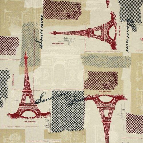 Timeless Treasures April in Paris Architecture Ecru, 44-inch (112cm) Wide Cotton Fabric Yardage