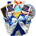 Winter Wonderland Christmas Holiday Gourmet Food Gift Basket