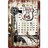 ルート66 Route 66 Desert Kalender / カレンダー ブリキ看板 TIN SIGN アメリカン雑貨 インテリア