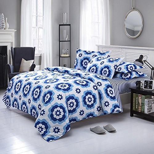 Cheapest Prices! Elegant Design Printed Pattern Duvet Cover Sets Twin Size
