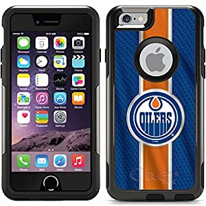 Coveroo Commuter Series Case for iPhone 6/6s - Retail Packaging - Edmonton Oilers - Jersey Stripe