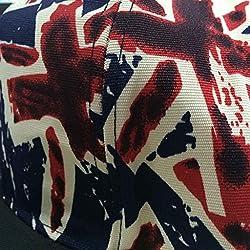 Phenovo Unisex Men Women Lovers Union Jack UK Flag Snapback HipHop Hat Cap