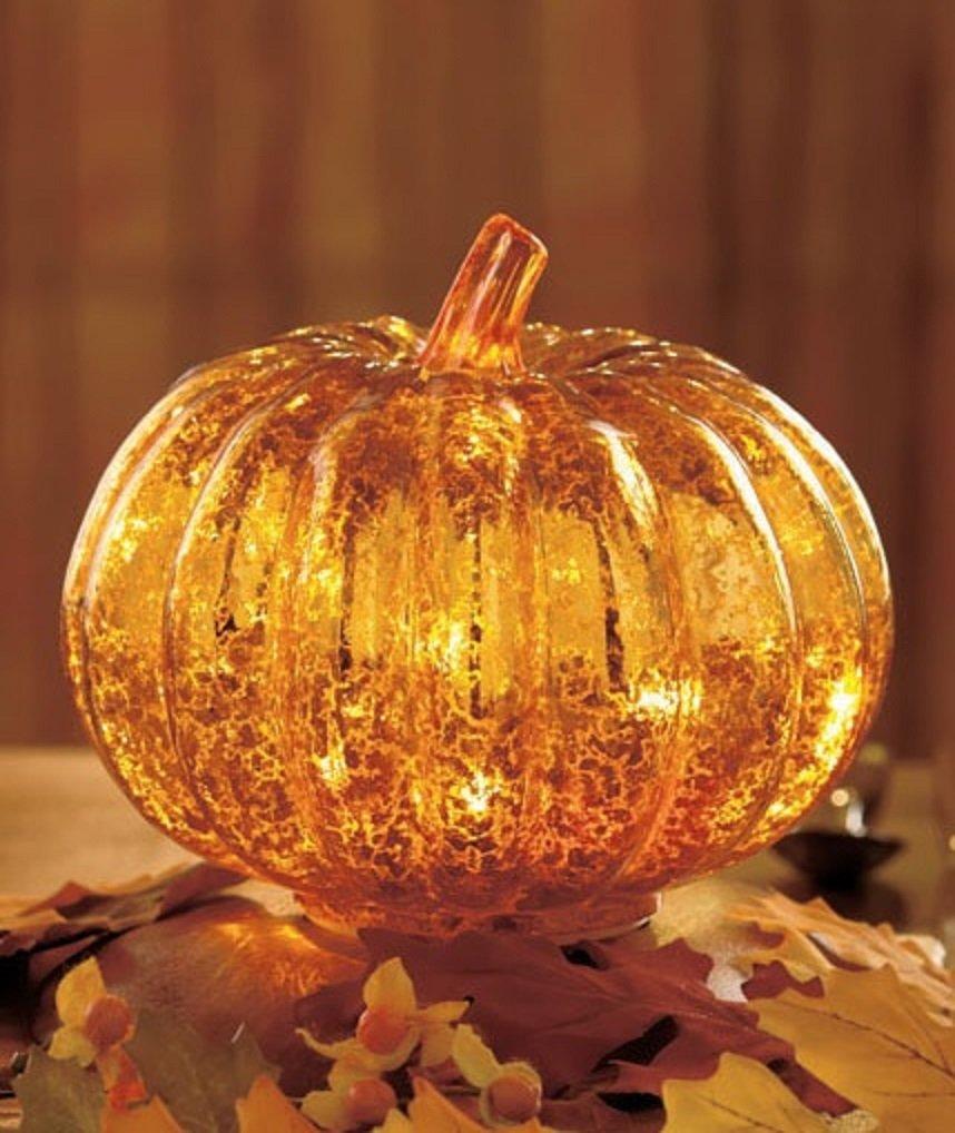 Thanksgiving decoration outdoor - Thanksgiving Lighted Pumpkin Figurines Thanksgiving Wikii
