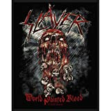 Slayer - Patch World Painted Blood (in 10 cm)