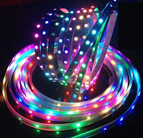 Greatlight Rgb 5M 16.4Ft Ip68 Waterproof Smd 5050 150Leds Ic 2811 Strip Light Color Changing Flexible Lighting Strip