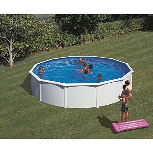 Piscine fidji ronde blanche 4 tailles disponibles 350 for Forum piscine