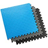 Sivan Health and Fitness® Puzzle Exercise Mat High Quality EVA Foam Interlocking Tiles