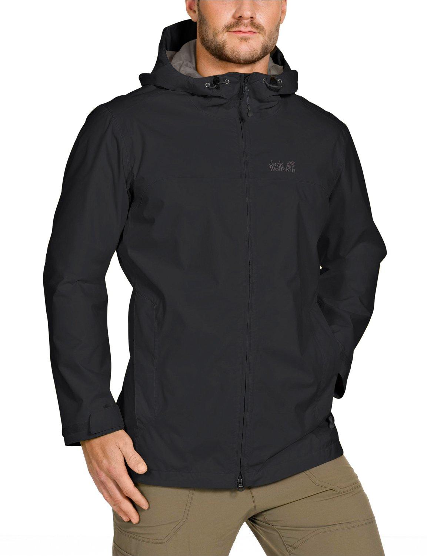 Jack Wolfskin Herren Wetterschutzjacke Arroyo Jacket Men, Black, L, 1104292-6000004 jetzt kaufen