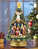 Musical Nativity Scene Christmas Tree