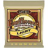Ernie Ball 2004 Earthwood Light 80/20 Bronze Acoustic Set, .011 - .052
