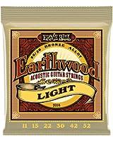 Ernie Ball 2004 Jeu de cordes 11-52 Bronze Light Earthwood 80/20