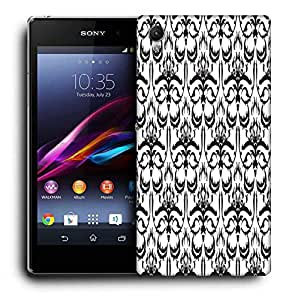 Snoogg Grey Abstract Pattern Printed Protective Phone Back Case Cover For Sony Xperia Z5
