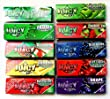 10 x Juicy Jay's Mixed 1 1/4 Flavoured Cigarette papers