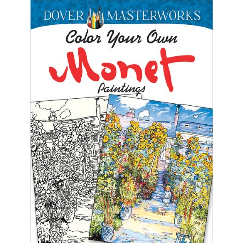 Dover Masterwork Color Your Own Monet Painting Book - 1