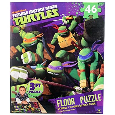 Teenage Mutant Ninja Turtles 3 FT Floor Puzzle Extra Large Pieces from Nickelodeon