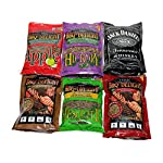 BBQrs Delight Wood Smoking Pellets - Super Smoker Variety Value Pack - 1 Lb. Bag - Apple, Hickory, Mesquite, Cherry, Pecan and Jack Daniels