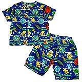ポケモン キッズ 男児用 男の子用 パジャマ 半袖 ハーフパンツ スーツ