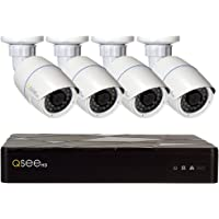 Q-See 4-Channel 4-Camera 4MP Security System