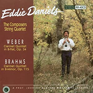 Weber Brahms - Clarinet Quintets
