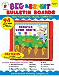 img - for Big & Bright Bulletin Boards, Grades PK - 3: Ideas That Decorate, Educate, and Motivate book / textbook / text book