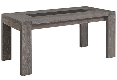 Bristol Table, Grey Oak