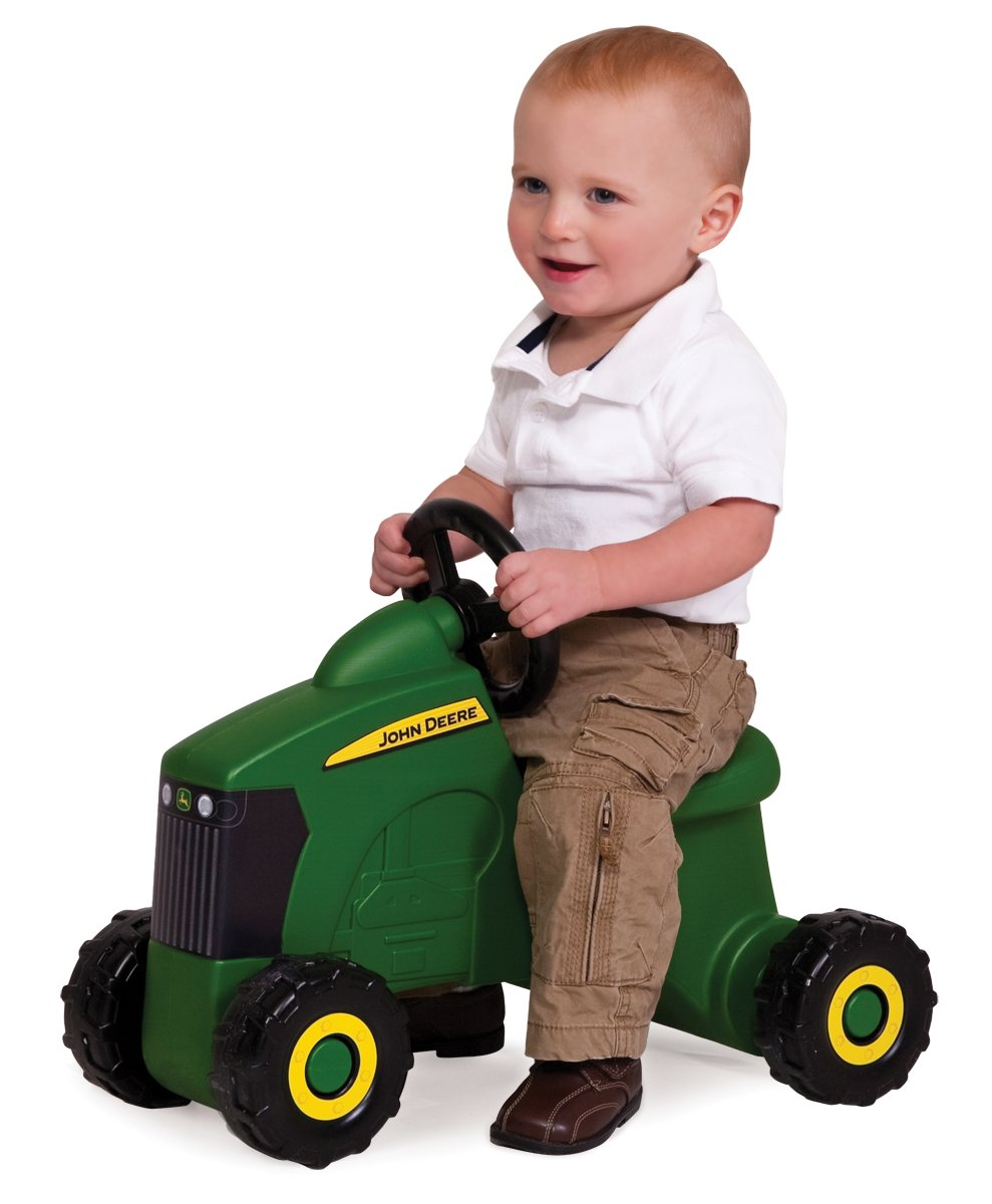 John Deere Sit-N-Scoot Tractor