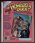 Howard the Duck Magazine # 2 by Bill Mantlo